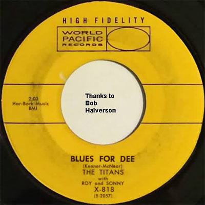The Titans - Blues For Dee